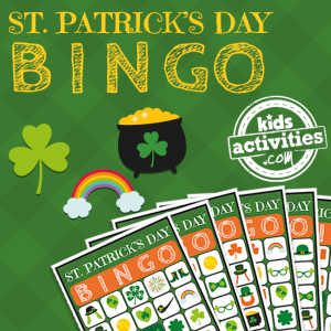 Printable St. Patrick's Day BINGO Printable Game for Kids of All Ages - The Printables Library