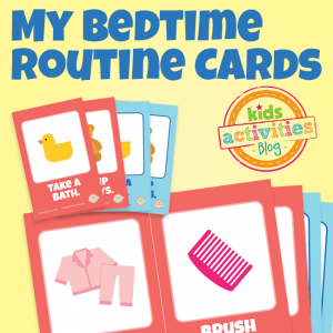 Bedtime Routine Flip Cards