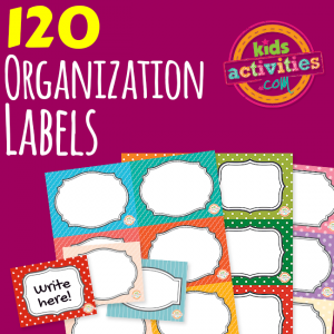 Printable Organization Labels