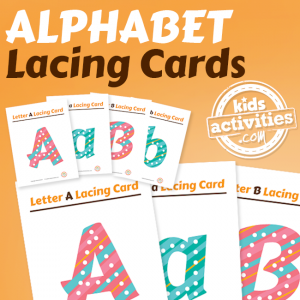 Alphabet Lacing Cards