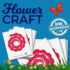 Printable Flower Craft Template
