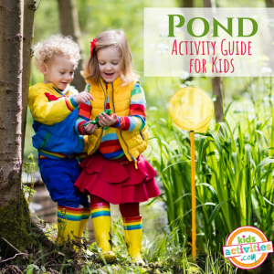 Pond Activity Guide for Preschoolers - Printables.KidsActivities.com