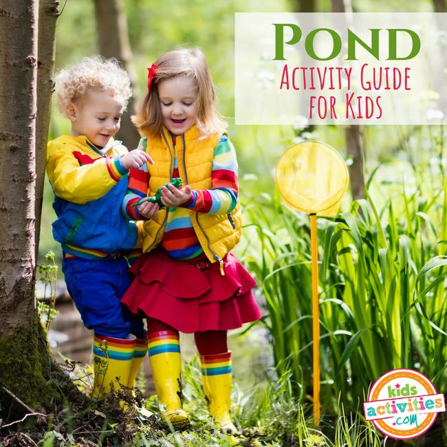 Pond Activity Guide for Preschoolers - Printables.KidsActivities.com