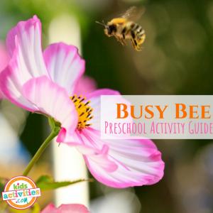 Bee Preschool Activity Guide