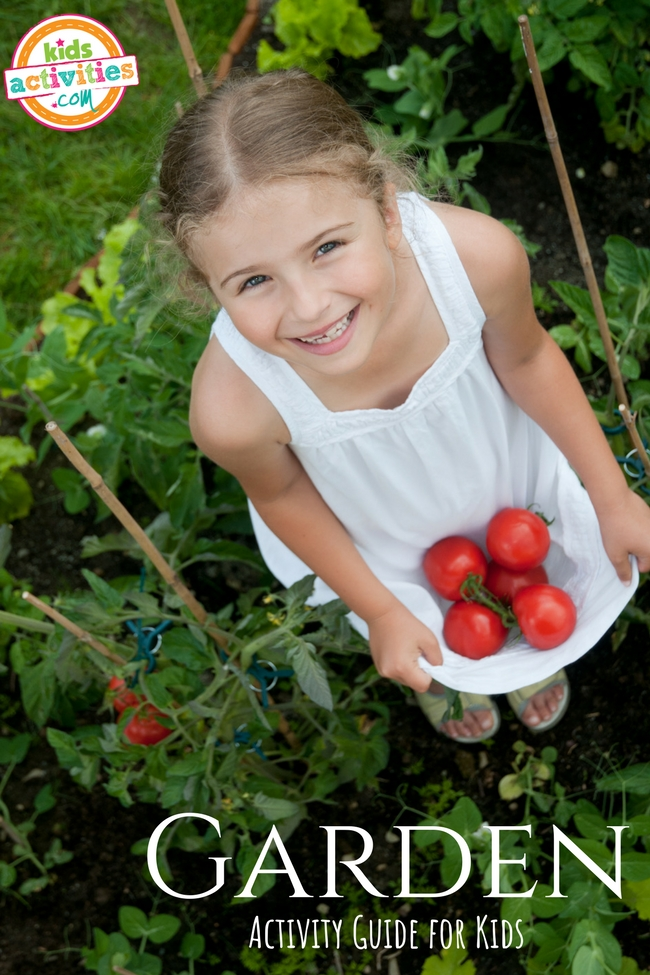 Garden Activity Guide for Kids - Printables.KidsActivities.com