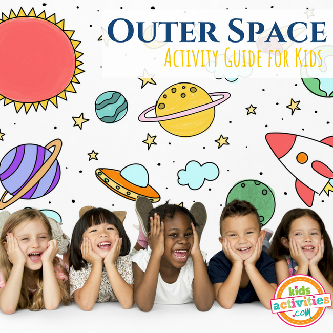 Outer Space Activity Guide for Preschoolers - Printables.KidsActivities.com