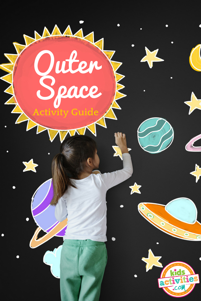 Preschool Activities for Space - Free Outer Space Activity Guide for Kids Studying Space, Planets, Stars, and the Galaxy - Printables.KidsActivities.com