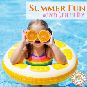Summer Activity Guide for Preschoolers - Printables.KidsActivities.com