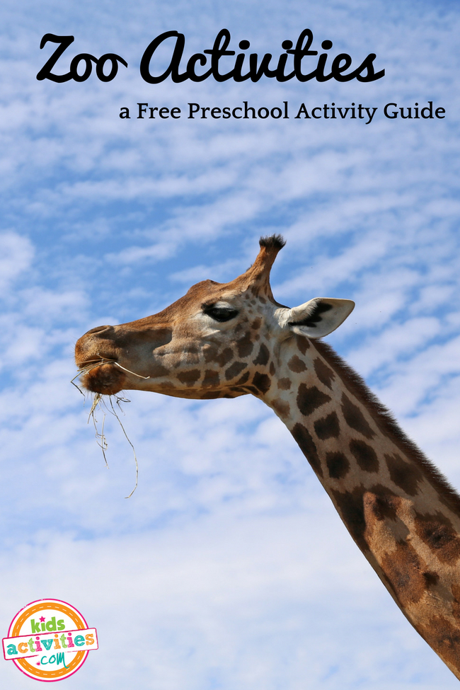 Zoo Activities - a Free Preschool Activity Guide - Printables.KidsActivities.com