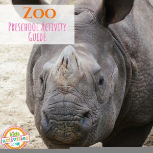 Zoo Activities Guide for Preschoolers