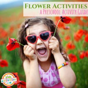Flowers Preschool Activities Guide