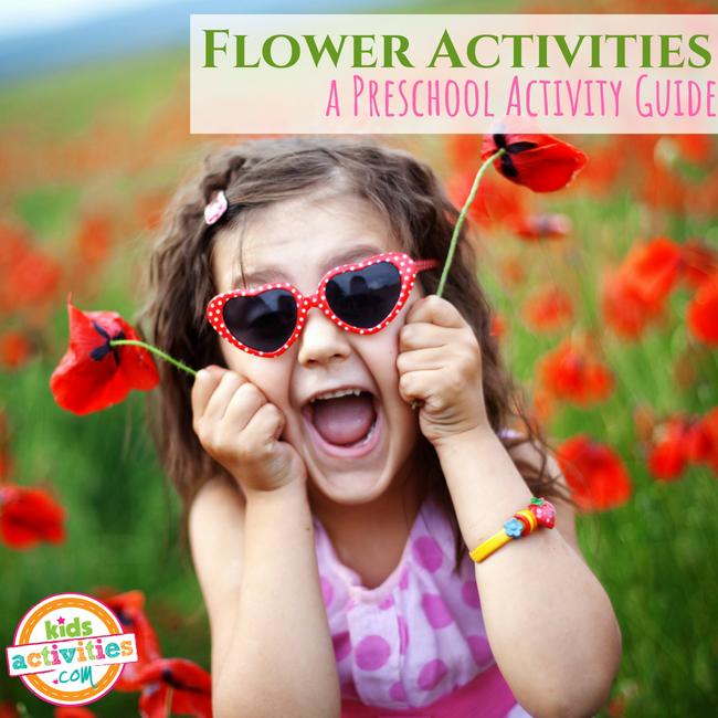 Flowers Preschool Activity Guide - Printables.KidsActivities.com