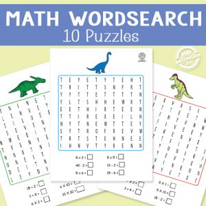Math Wordsearches