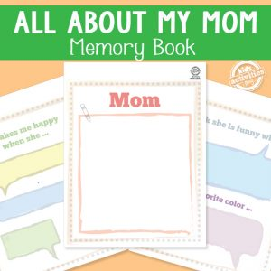 All About My Mom Memory Book