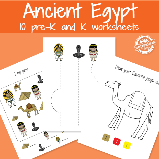 Egypt Learning Worksheets