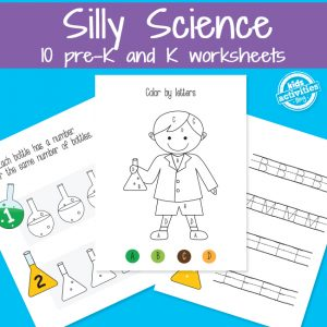 Little Scientist Preschool Science Worksheets