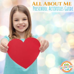 All About Me Preschool Activities Guide - Printables.KidsActivities.com