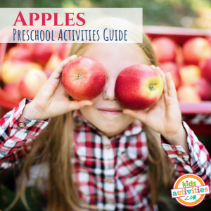 All About Apples Preschool Activities