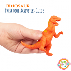 Dinosaur Preschool Activities Guide - Printables.KidsActivities.com