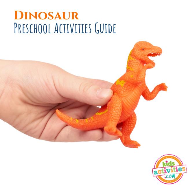 Dinosaur Preschool Activities Guide - Printables.KidsActivities.com