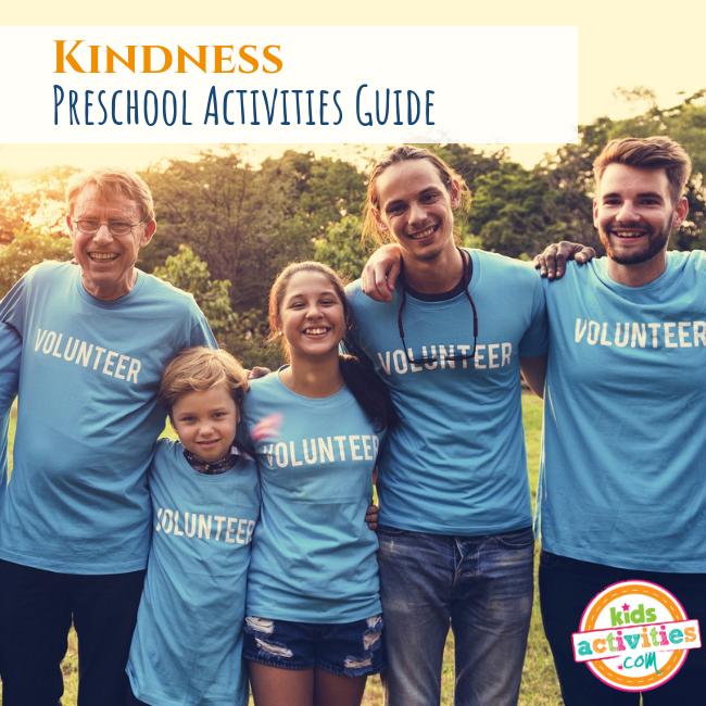 Kindness Preschool Activities Guide - Printables.KidsActivities.com