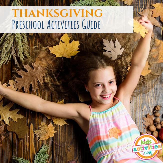 THANKSGIVING Preschool Activities Guide - Printables.KidsActivities.com