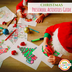 Christmas Preschool Activities Guide - Printables.KidsActivities.com