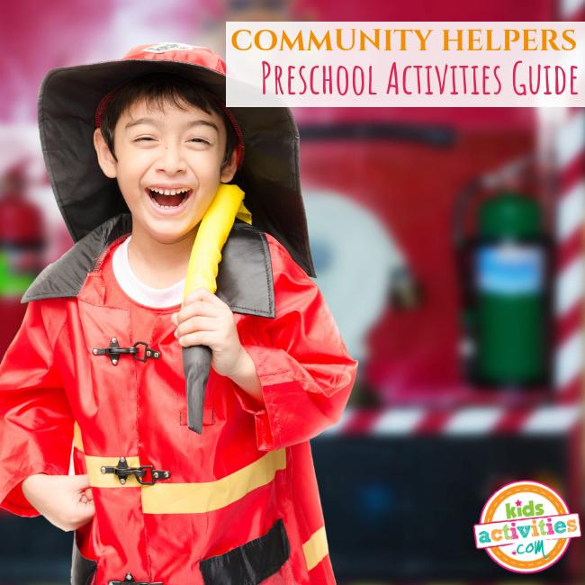Community Helpers Preschool Activities Guide - Printables.KidsActivities.com
