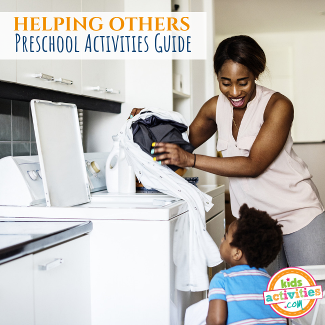 Helping Others Preschool Activities Guide - Printables.KidsActivities.com