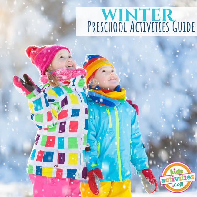 WINTER Preschool Activities Guide - Printables.KidsActivities.com