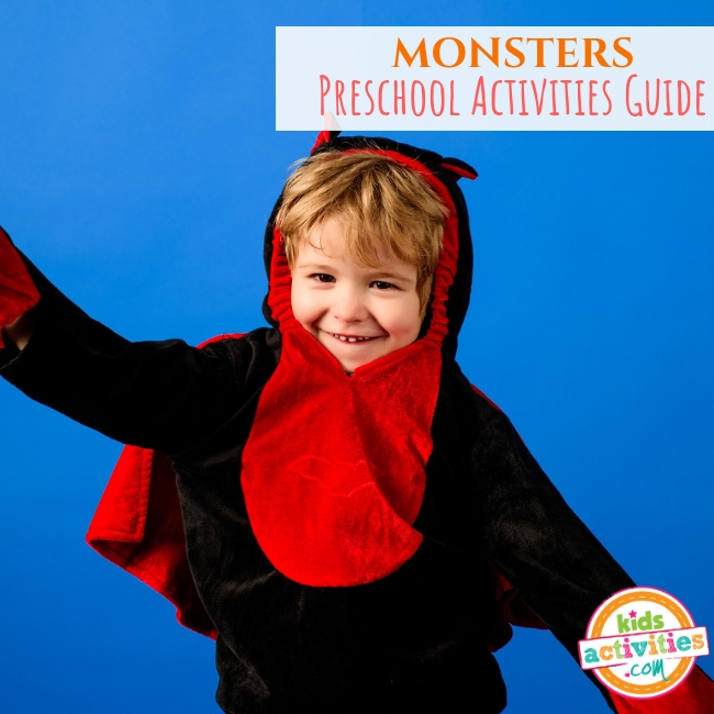 Monsters Preschool Activities Guide - Printables.KidsActivities.com