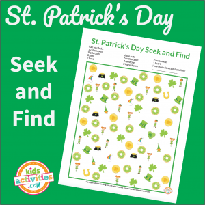 St Patricks Day Seek and Find
