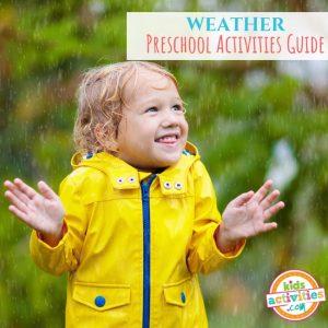 Weather Preschool Activities Guide - Printables.KidsActivities.com