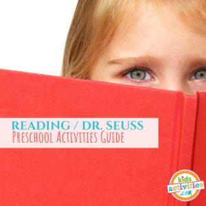 Read Across America Day Activities and Dr. Seuss Preschool Activities Guide - Printables.KidsActivities.com